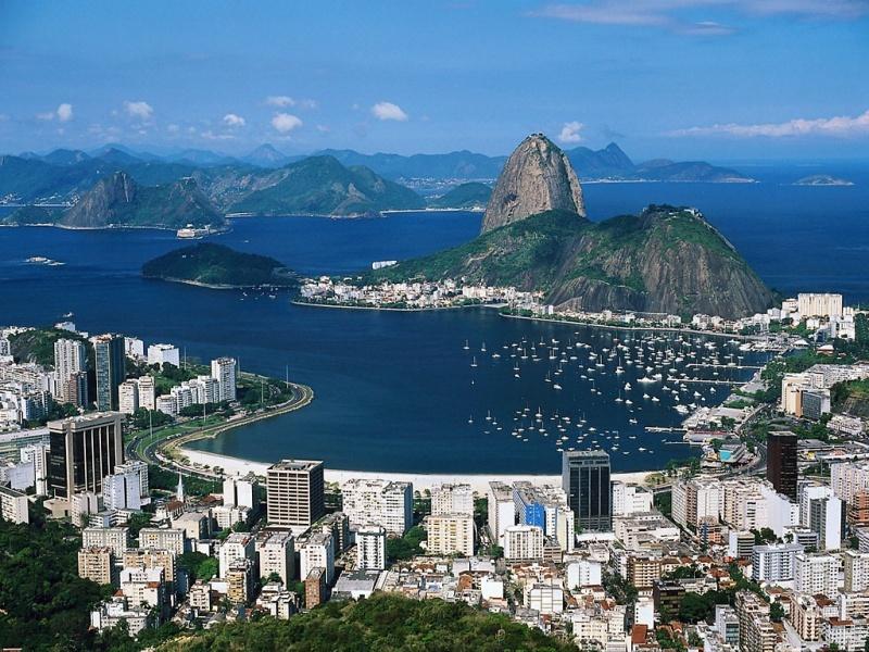 Clásica Vista de Rio de Janeiro